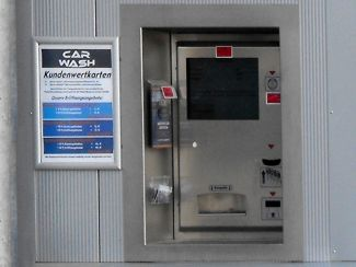 Car Wash Kassenautomat
