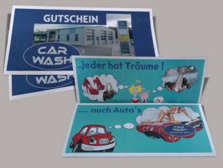 Car Wash Gutschein